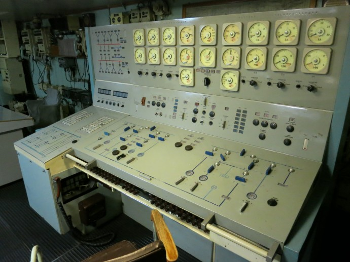 Nuclear reactor control room